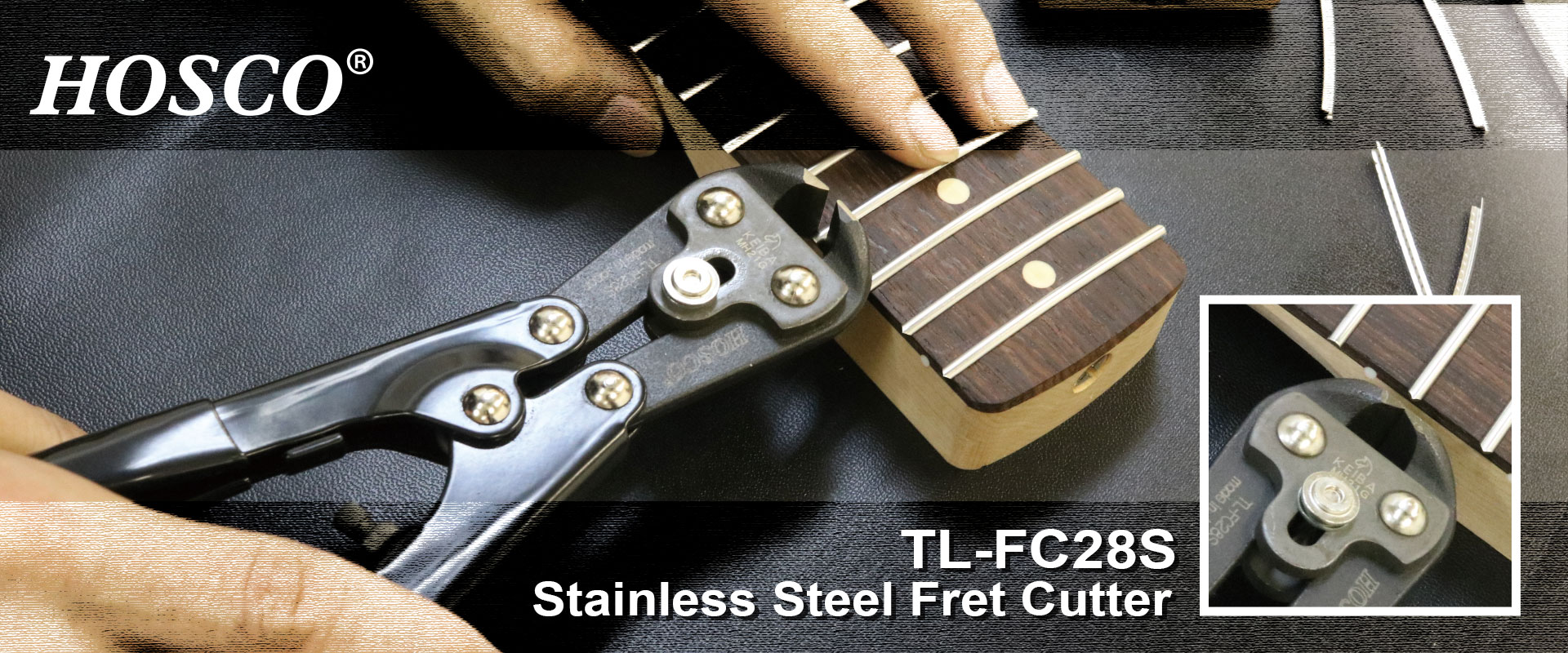 Stainless Steel Fret Cutter